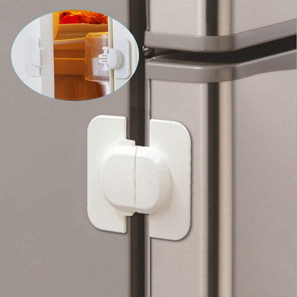 5Pcs Adjustable Drawer Cupboard Door Fridge Box Children Kids Baby Safety Lock