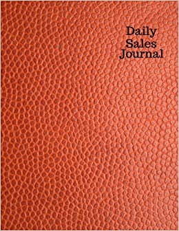 amazon com daily sales journal bookkeeping log ledger planner