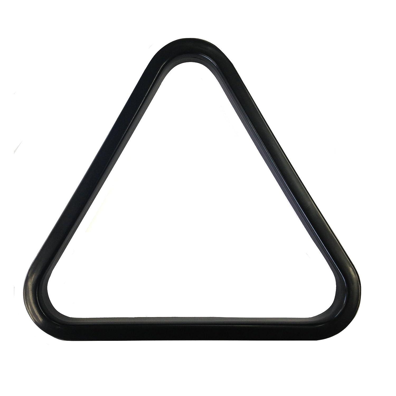 9 bolas de plástico NEGRO American Pool Triángulo de 57 mm bolas. MATCHPLAY BILLIARD SUPPLIES