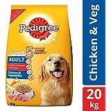 Pedigree Adult Dry Dog Food, Chicken & Vegetables – 20 kg Pack
