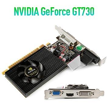 ZHOUXING - Tarjeta gráfica NVIDIA GT730 2 GB SDDR3 para ...