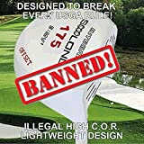 #1 Lightweight 175 Gram Slice Buster Anti-Slice Offset Illegal Non-Conforming Custom Golf Driver - Compare Callaway Epic Star