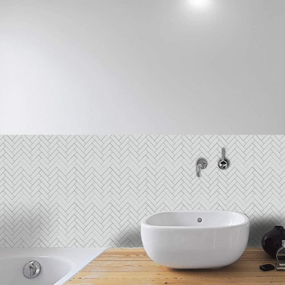 Adesivo per Piastrelle 6 * 6 inch * 50PC Cucina Marocchino per Bagno Impermeabile Plastica Ruosaren Resistente allolio Autoadesivo