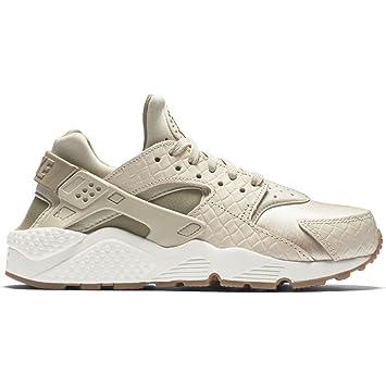 Nike Wmns Air Huarache Run Prm - oatmeal khaki-sail-gum med bro ... 6668e5f370