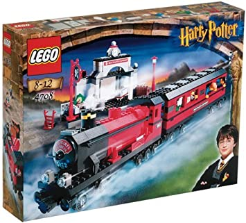 harry potter lego how to get on train