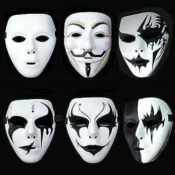 sortie de gros comment commander original LIAN Masque d'halloween Douyin APP Street Dance Masque De ...
