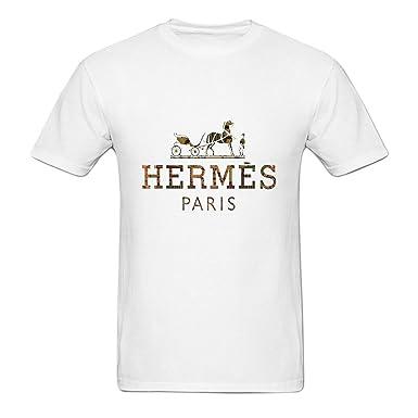 33363223 maikeer Men's Customized Gold Hermes O Neck T Shirt: Amazon.co.uk: Clothing
