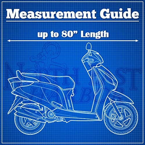 Vehicle Covers North East Harbor Motorcycle Bike Cover Travel Dust ...