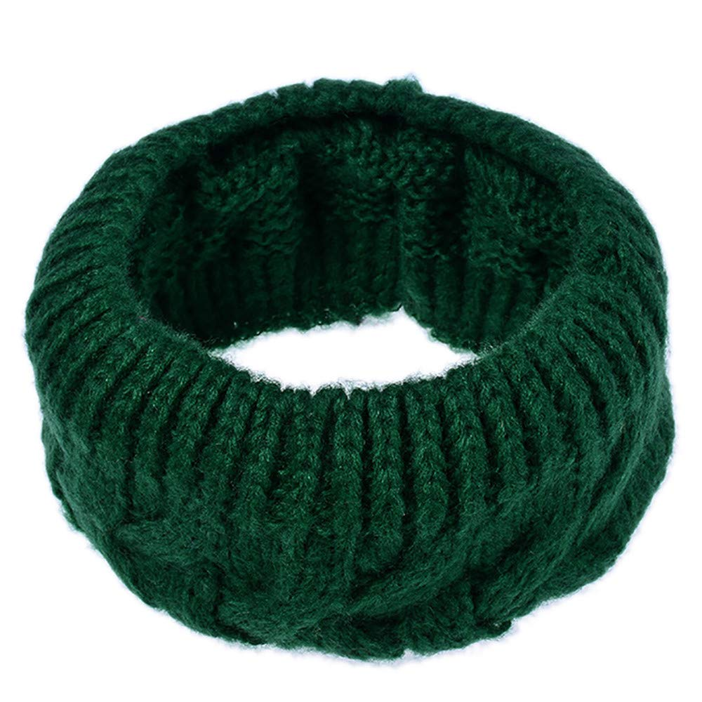 Womens Scarf,Willsa Men Solid Color Winter Warm Collar Knitted Shawl Soft Neck Scarf