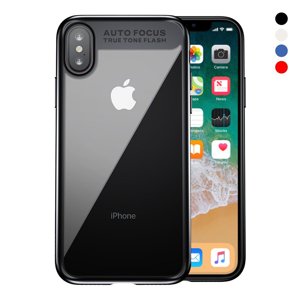 SKYNOW iPhone X Case,Ultra Slim Case With Strong TPE Protect for iPhone X 2017 Edition.(Black)