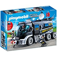 PLAYMOBIL 9360 SWAT Team truck with light and sound - NEW...