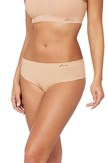 3d1fb1bd6b Boody Body EcoWear Women s Brazilian Bikini - Seamless Underwear Made from  Natural Organic Bamboo Viscose -