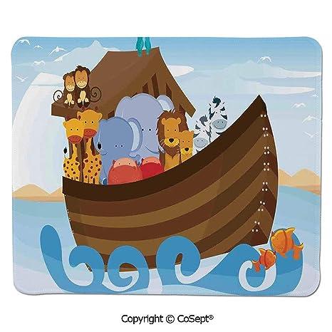 Amazon com : Mouse Pad, Different Wild Animals on Noahs Ark