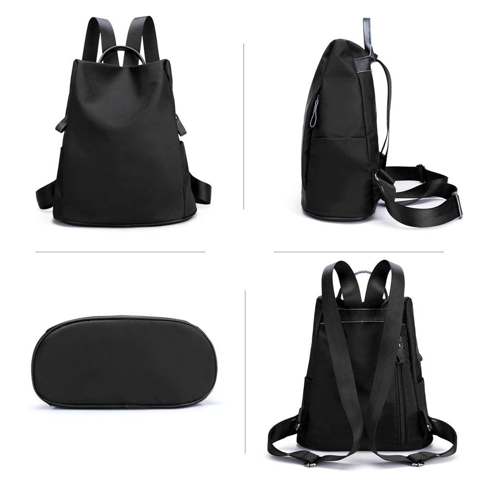 ca746c7eb2 Amazon.com  KISS GOLD(TM) Luxury Nylon Backpack Daypack Satchel ...