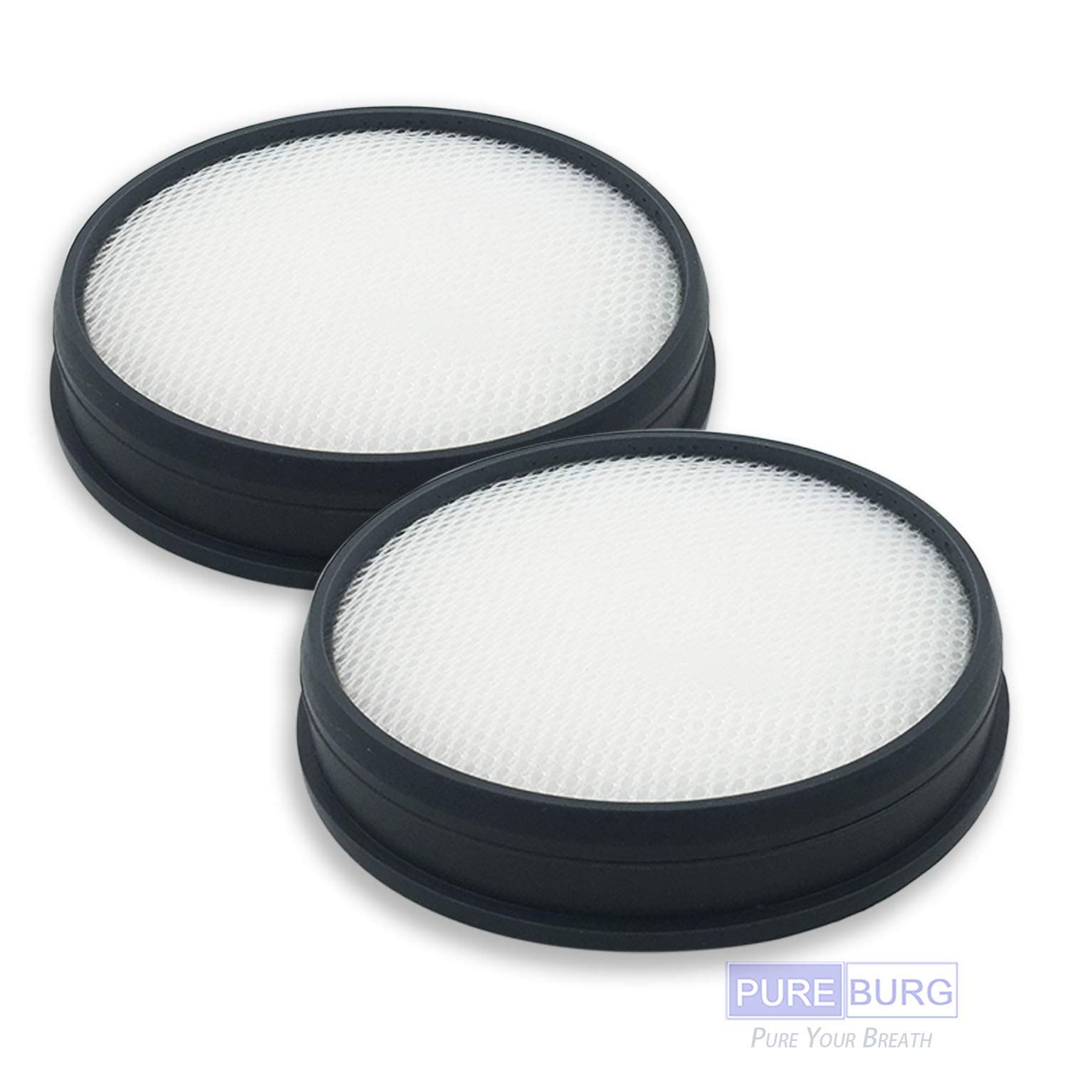 Pureburg 2-Pack Replacement Vacuum Primary Air Filters for Hoover Windtunnel 3 Pro Steerable Pet Bagless Upright Replace Part# 303903001 fits UH70905 UH72400 UH70400
