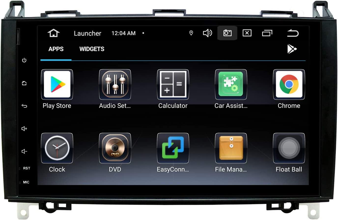 9 Pulgadas Autoradio Android 10 Doble DIN Radio de Coche para Mercedes W906 Sprinter/V-Class W639/Vito/Viano/B-Class W245 B160 B170 B180 B200, Soporte de Navegación GPS BT WiFi SWC DSP Dab 2+80GB