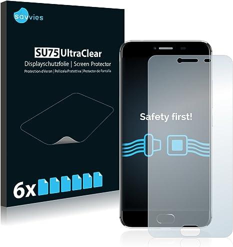 savvies Protector Pantalla Compatible con UMI Z (6 Unidades) Pelicula Ultra Transparente: Amazon.es: Electrónica