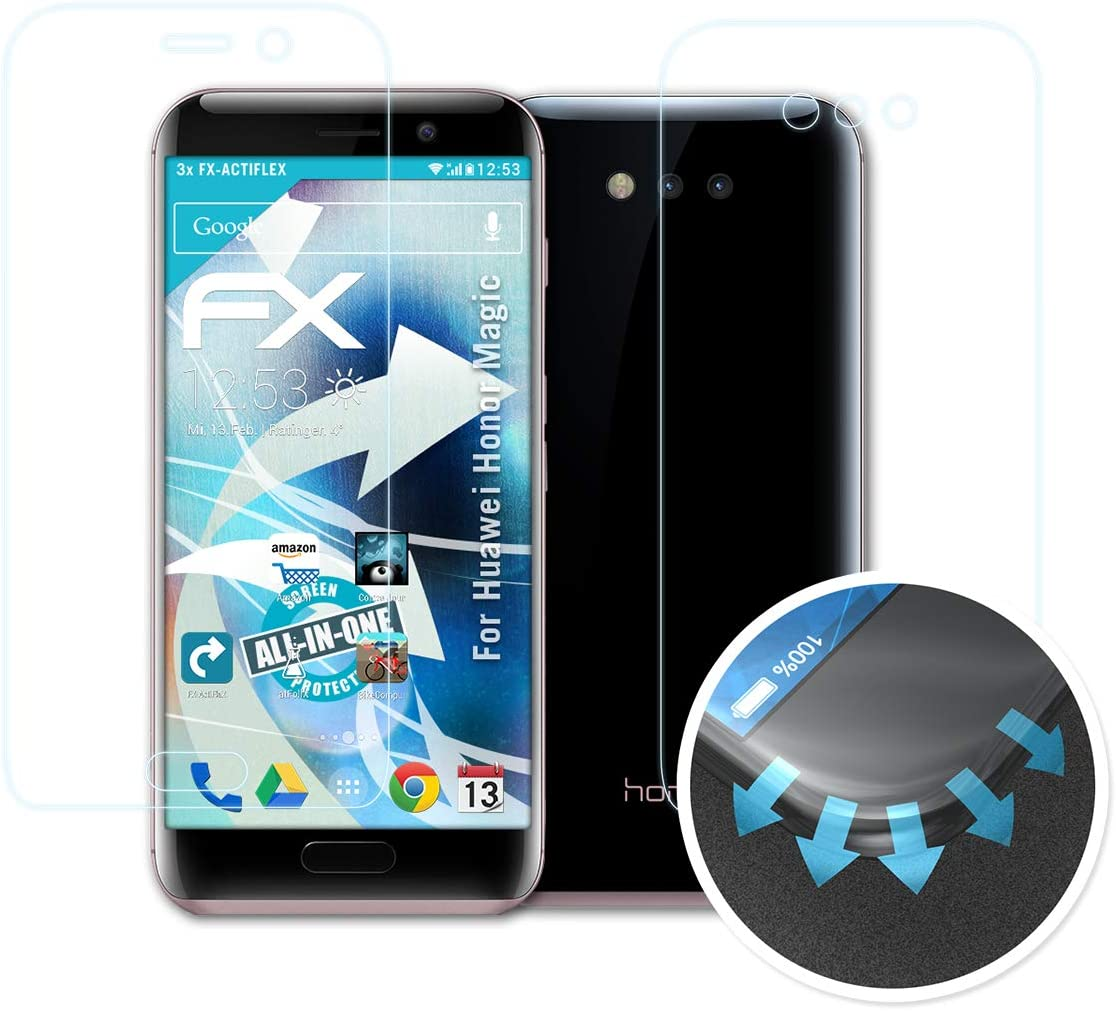 atFoliX Película Protectora Apto para Huawei Honor Magic Protector ...