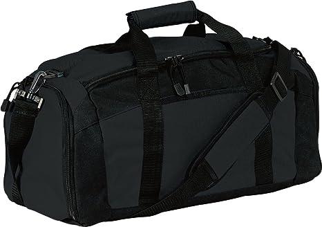ea10262e29c0 Port & Company luggage-and-bags Improved Gym Bag OSFA Black
