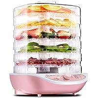 Secador de frutas Jze-R2 Secador de alimentos Jze-R2 Desidratação de alimentos Secador de ar pequeno rosa branco