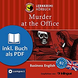 Murder at the Office (Compact Lernkrimi Hörbuch)