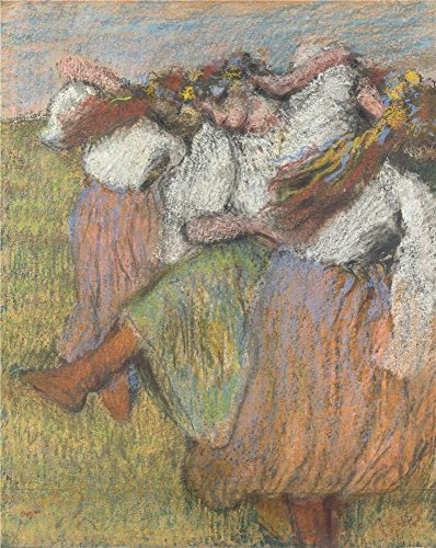 [Oil Painting 'Hilaire Germain Edgar Degas Russian Dancers ' Printing On High Quality Polyster Canvas , 10 X 13 Inch / 25 X 32 Cm ,the Best Bedroom Decor And Home Decoration And Gifts Is This Best Price Art Decorative Prints On] (White Trash Costume Ideas Pictures)