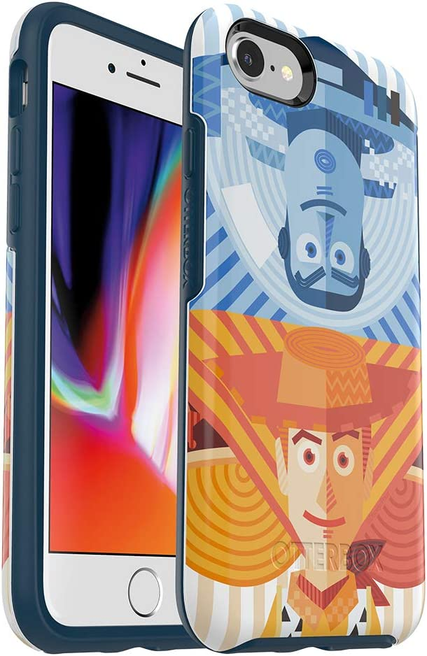OtterBox Symmetry Series Disney • Pixar Case Toy Story for iPhone SE (2nd gen - 2020) and iPhone 8/7 (NOT Plus) - Retail Packaging - Buzz & Woody