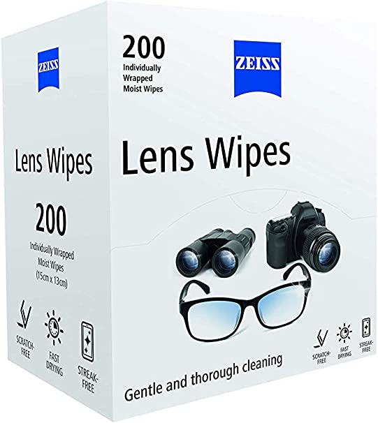 ZEISS toallitas de lentes-Paquete de 200 Reino Unido stock rápido y libre