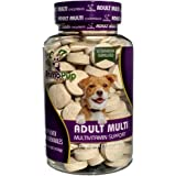 Adult Dog Multivitamin by Primo Pup Vet Health | Supports Physical & Mental Wellbeing | Vet Formulated | Easy to Digest | No Artificial Colors, Flavors, or Grains | Made in the USA | 60 Chewables