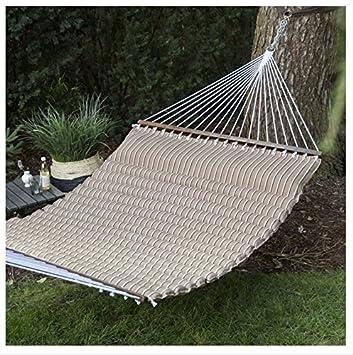 cocoa pillowtop hammock amazon     island bay 13 ft  cocoa pillowtop hammock   garden      rh   amazon