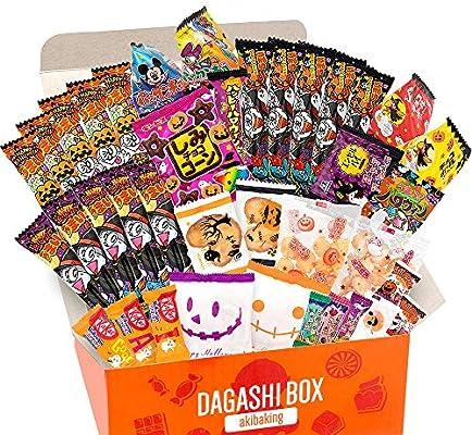 AKIBA KING Caja de set especial japonesa Dagashi Snack de ...