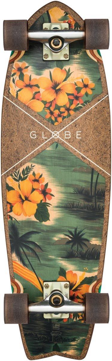 "Globe Cruiser Complete Sun City 9.0"" x 30"" Complete Komplett Kokos/Hawaiian 76 2cm"