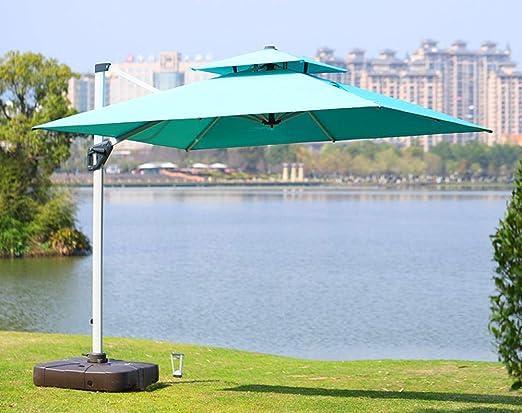 TNKML Sombrilla De Jardín Paraguas para Exteriores Resistente Al Agua Y Anti-Ultravioleta Se Puede Girar 360 ° Pedal Pedal Roman Paraguas para Piscina, Terraza Sombrilla Sombrilla De Playa: Amazon.es: Jardín