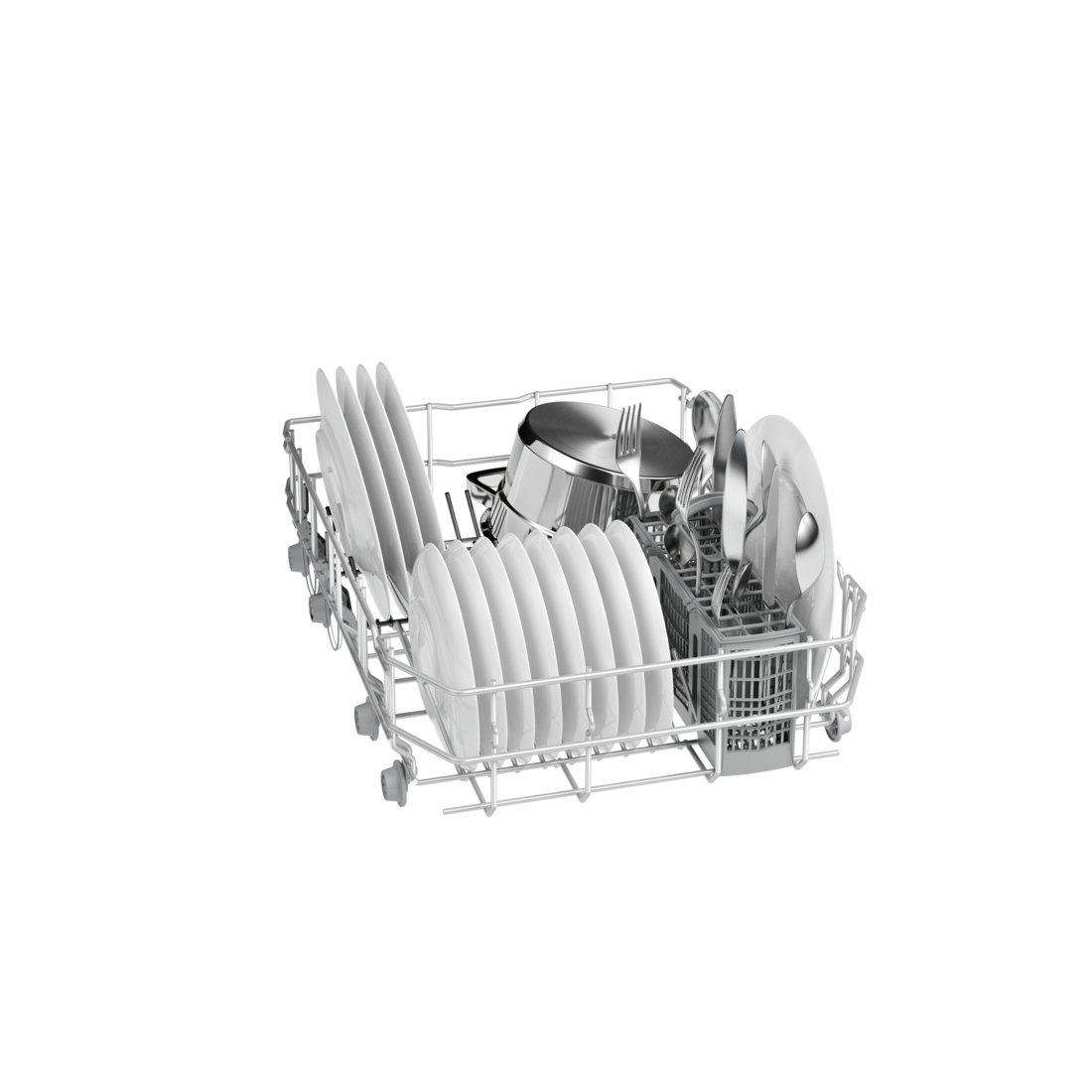 Bosch Serie 4 SPS50F02EU Independiente 9cubiertos A+ lavavajilla - Lavavajillas (Independiente, Blanco, Full size (45 cm), Blanco