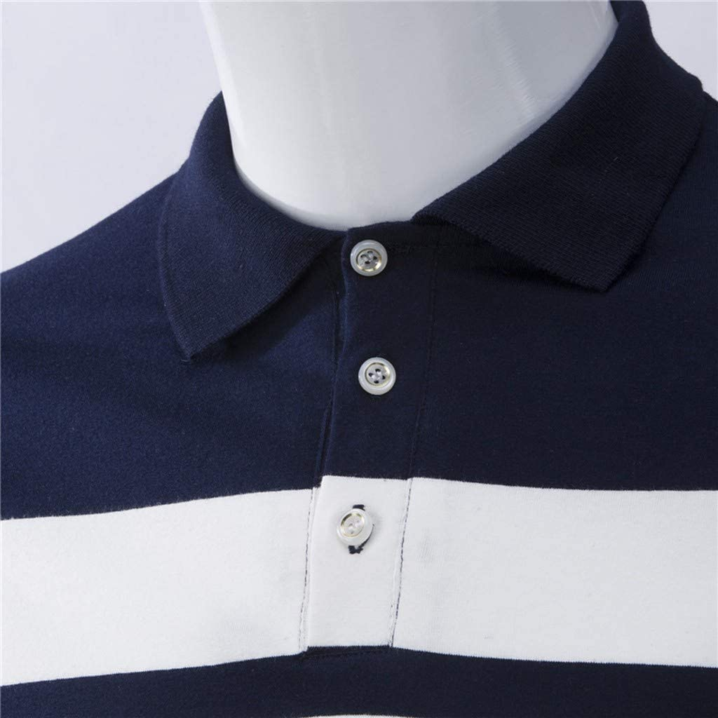 Slim-fit Short-Sleeve Plaid Shirt Camisa de Vestir Hombre Camiseta ...