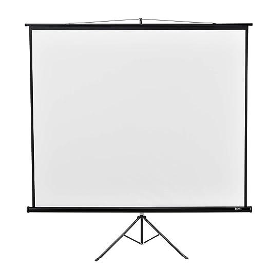in.Tec] Pantalla para proyector Portable con Trípode 290 x ...