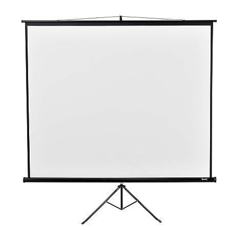 in.Tec] Pantalla para proyector Portable con Trípode 290 x 216 x ...