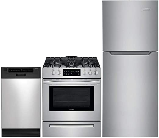 Amazon.com: Frigidaire 3 Piece ADA Compliant Apartment Size ...