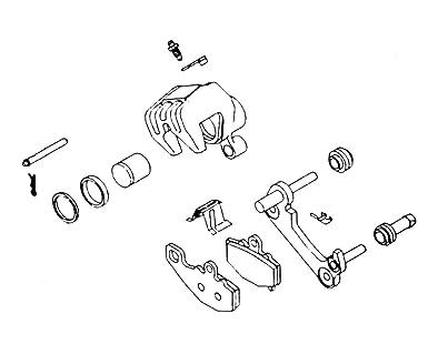 Amazon Com Kl Supply Brake Caliper Rebuild Kit 32 1443 Automotive