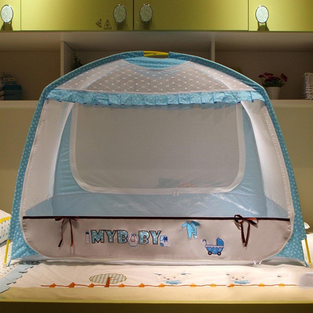 Moskitonetze MEIDUO Portable kostenlose Installation von Baby Cartoon Baby von Mosquito Netze Faltbare Neugeborene Baby Mosquito Netze (65  115  86cm) 6712b7