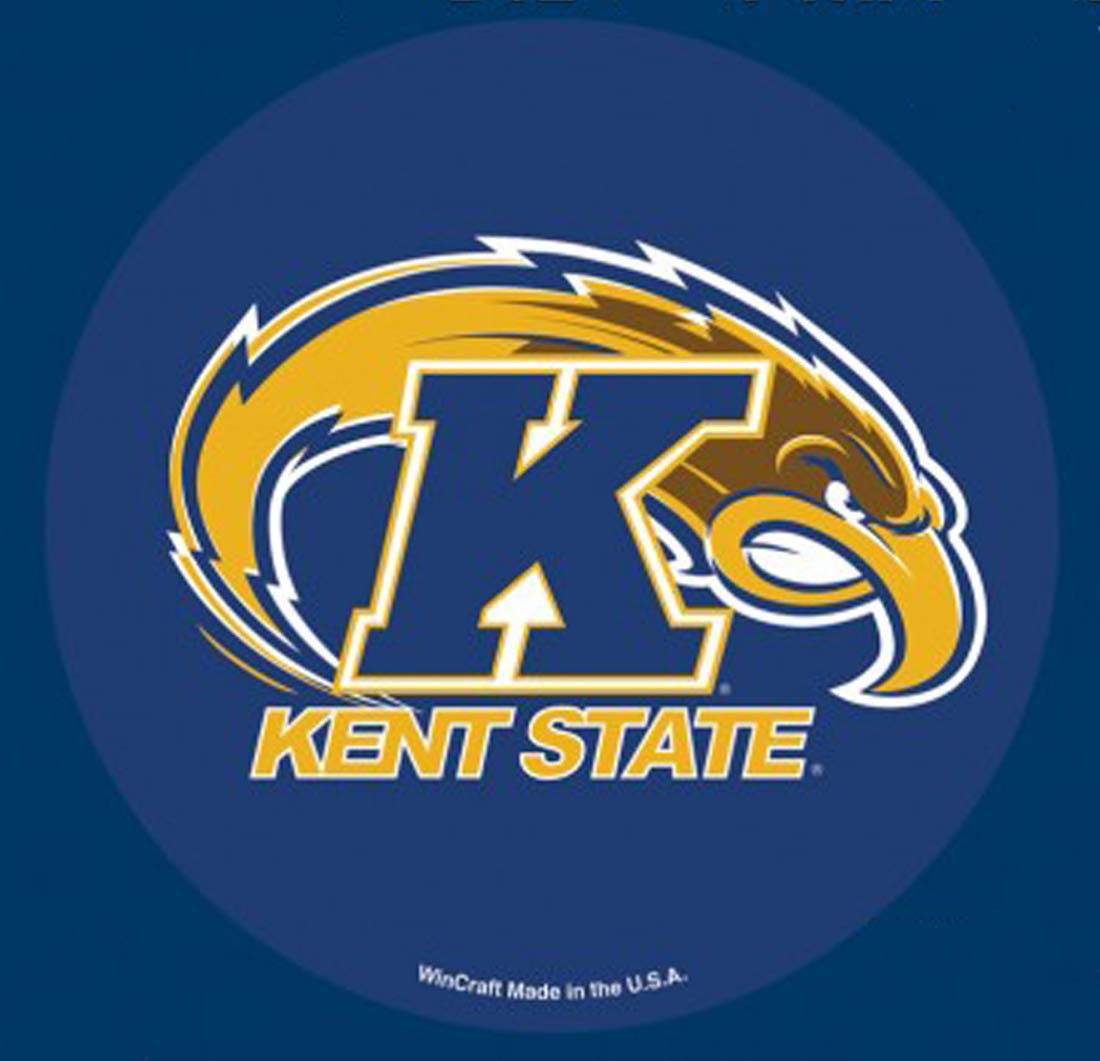 Wincraft Kent State Golden Flashes Automotive Magnet 4 inches Round