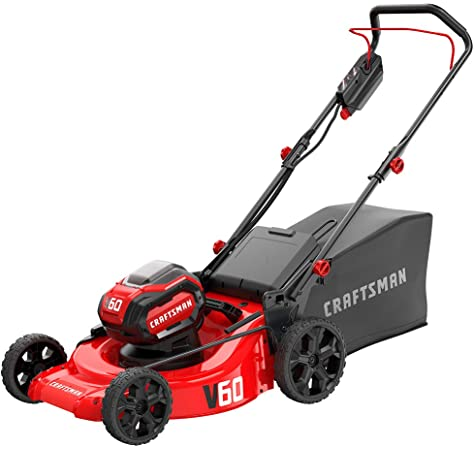 Amazon.com : CRAFTSMAN V60 Cordless Lawn Mower, Self ...