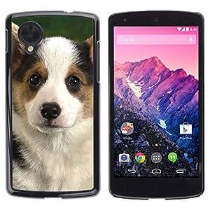 Vortex Accessory Carcasa Protectora Para Lg Google Nexus 5 D820 D821 - Corgi Puppy Pembroke Welsh Dog -