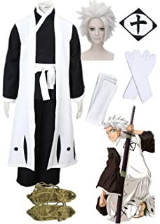 Halloween Men/'S Bleach Aizen Sousuke Cosplay Costume Game Adult Costume