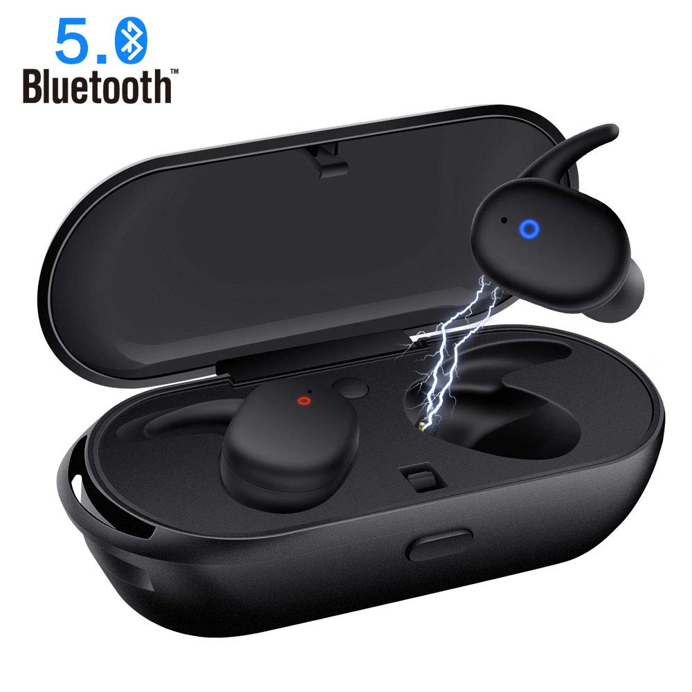 Back To Search Resultsconsumer Electronics New Wireless Bluetooth Headset Ear-to-ear Tws 5.0 Touch Earphones Stereo Surround Earbuds Music Headphoens Input Earplug