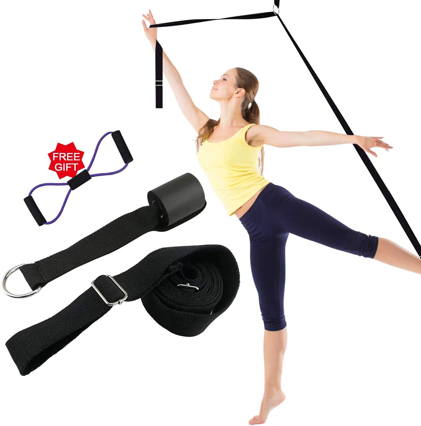 Door Flexibility Stretching Leg Strap Door Stretch Strap for Flexibility /& Splits Trainer,Great Equipment for Dance Ballet Cheer Gymnastics Taekwondo Yoga Pilates Stretching NDGDV Leg Stretcher