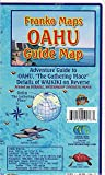 Oahu Hawaii Adventure Guide Franko Maps Waterproof Map