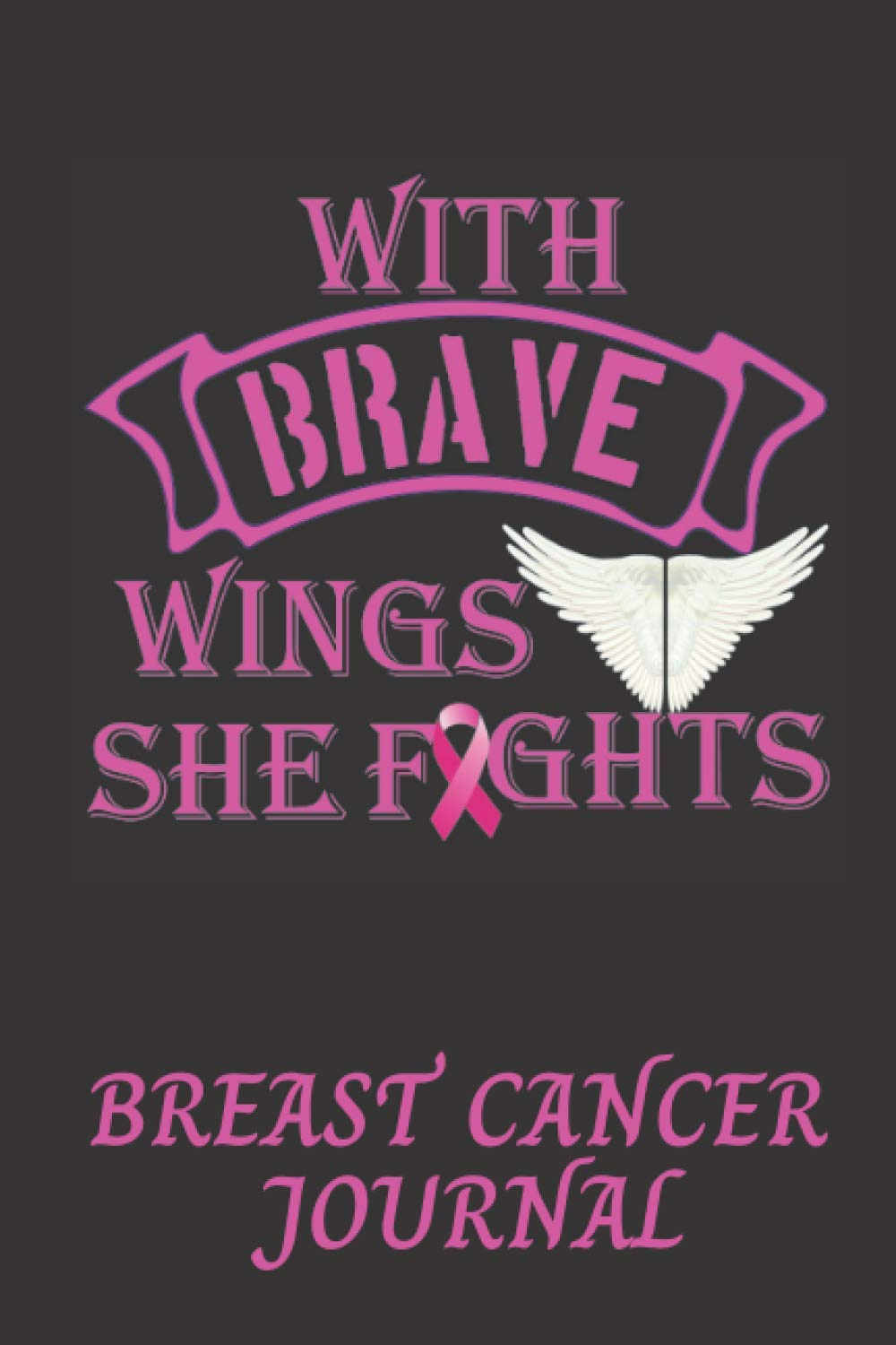 Breast Cancer Journal 20 Pages Lined With Inspirational quotes ...