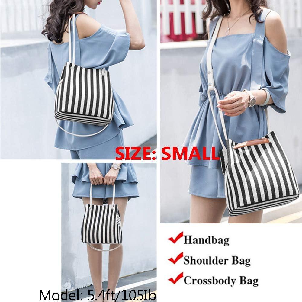 Womens Tote Bag Small Medium Canvas Shoulder Bag Hobo Bag Daily Working Handbag