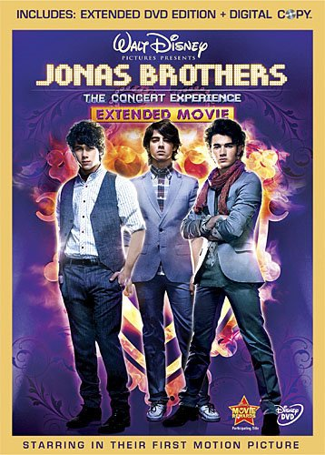Jonas Brothers: The Concert Experience (Two-Disc Extended Edition + Digital Copy) (Rock Brothers Jonas)